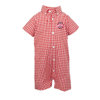 Garb Brooks Gingham Romper