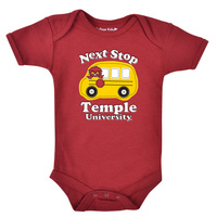 Temple College Kids Infant Bodysuit