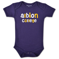 College Kids Infant Albion College Bodysuit