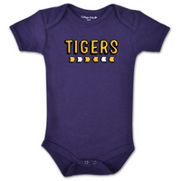LSU Tigers College Kids Infant Bodysuit