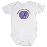 Northwestern Wildcats College Kids Infant Bodysuit