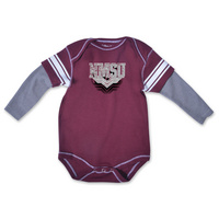 College Kids Infant Running Back Bodysuit