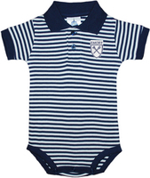 Creative Knitwear Infant Striped Polo Bodysuit
