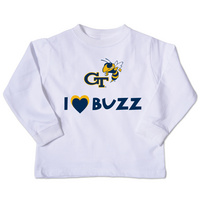 Georgia Tech College Kids Toddler Long Sleeve TShirt