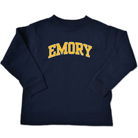 Emory Eagles College Kids Toddler Long Sleeve TShirt