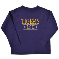 LSU Tigers College Kids Toddler Long Sleeve TShirt