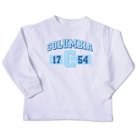 Columbia University College Kids Toddler Long Sleeve TShirt