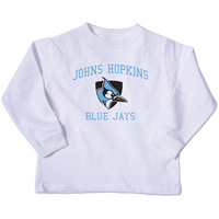 College Kids Toddler Long Sleeve Hopkins TShirt