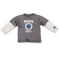 College Kids Toddler Layered Long Sleeve Tee