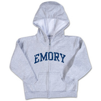 Emory Eagles College Kids Infant Full Zip Hoodie