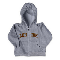 Lehigh College Kids Infant Full Zip Hoodie