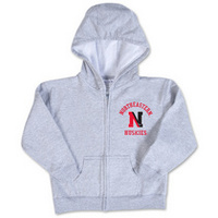 Northeastern Huskies College Kids Infant Full Zip Hoodie