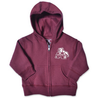 Mississippi State Bulldogs College Kids Infant Full Zip Hoodie