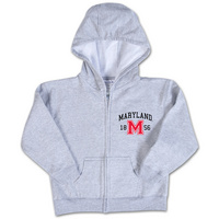 University of Maryland College Kids Infant Full Zip Hoodie