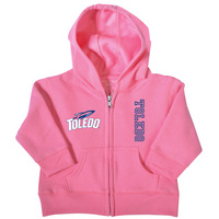 University of Toledo College Kids Toddler Full Zip Hoodie