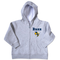 Georgia Tech College Kids Toddler Full Zip Hoodie