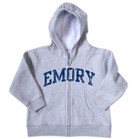 Emory Eagles College Kids Toddler Full Zip Hoodie