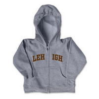 Lehigh College Kids Toddler Full Zip Hoodie
