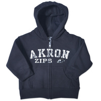 College Kids Toddler Full Zip Akron Hoodie