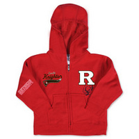 Rutgers Scarlet Knights College Kids Infant Full Zip Hoodie