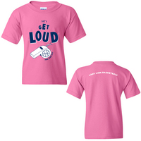 Penn State Lady Lions Pink Zone Youth Tshirt