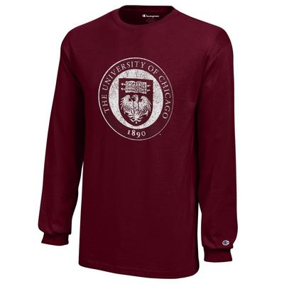 University of Chicago Champion Youth Long Sleeve T-Shirt