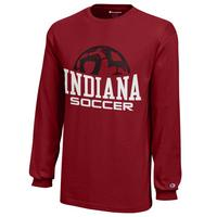 Indiana Hoosiers Champion Youth Long Sleeve TShirt