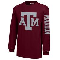 Texas A&M Aggies Champion Youth Long Sleeve T-Shirt