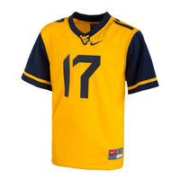 Nike West Virginia Youth Football Jersey