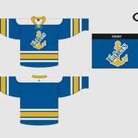 Champion Youth Hockey Away Jersey