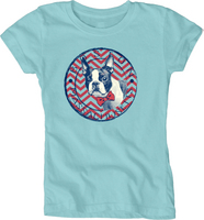 Blue 84 Youth Girls Basic T Shirt