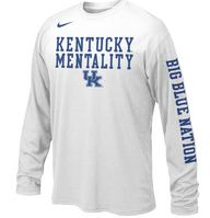 Nike Kentucky Youth Long Sleeve Mentality Tee