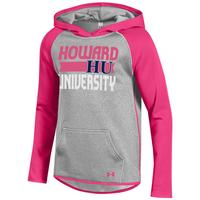 Under Armour Girls Performance Fleece Hooded Sweatshirt