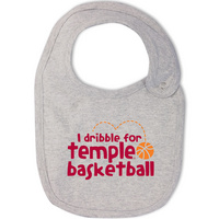 Temple College Kids Infant/Toddler Bib