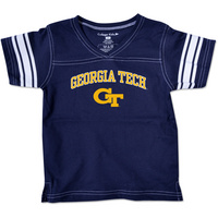 Georgia Tech College Kids Toddler Girls Football TShirt