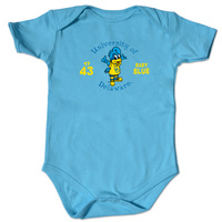 Delaware Blue Hens College Kids Infant Bodysuit