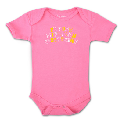 College Kids Infant Wolverines Bodysuit