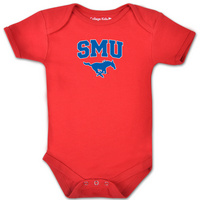 SMU Mustangs College Kids Infant Bodysuit