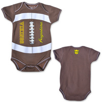 College Kids MVP Football Infant Bodysuit