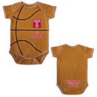 College Kids MVP Basketball Infant Bodysuit