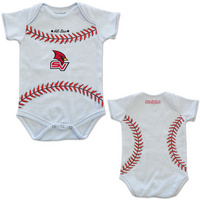 College Kids MVP Baseball Infant Bodysuit