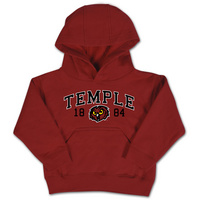 Temple College Kids Toddler Hoodie