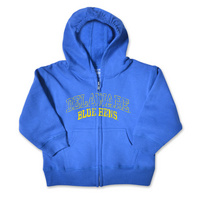 Delaware Blue Hens College Kids Toddler Full Zip Hoodie