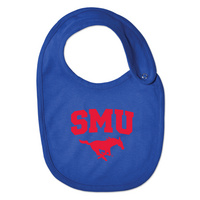 SMU Mustangs College Kids Infant/Toddler Bib