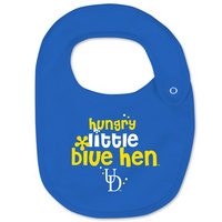 Delaware Blue Hens College Kids Infant/Toddler Bib