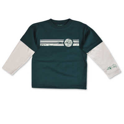 College Kids Toddler Layer Tee