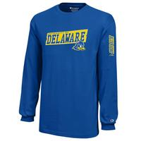 Delaware Blue Hens Champion Youth Long Sleeve TShirt