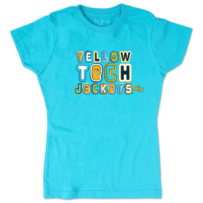 College Kids Youth Girl Short Sleeve Tee