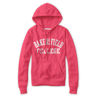 Red Shirt Melange Hood