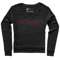 Alta Gracia Womens Long Sleeve V Neck